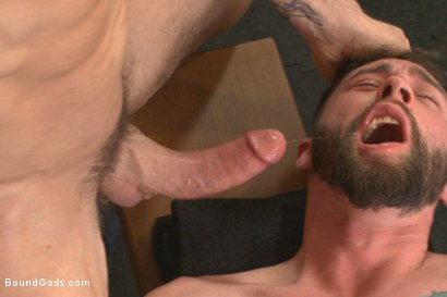 Photo number 6 from Hot Gym Stud Tormented and Fucked by the Creepy Handyman shot for Bound Gods on Kink.com. Featuring Trenton Ducati and Jackson Fillmore in hardcore BDSM & Fetish porn.