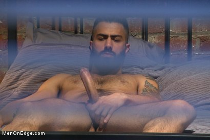 Photo number 2 from Adam Ramzi's Home Invaded and Cock Edged shot for Men On Edge on Kink.com. Featuring Adam Ramzi in hardcore BDSM & Fetish porn.