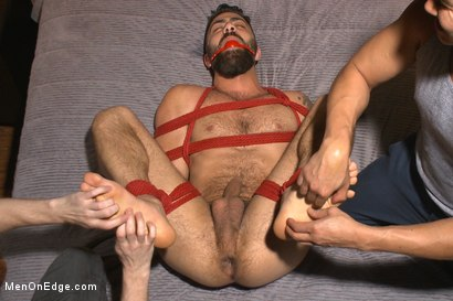 Photo number 11 from Adam Ramzi's Home Invaded and Cock Edged shot for Men On Edge on Kink.com. Featuring Adam Ramzi in hardcore BDSM & Fetish porn.
