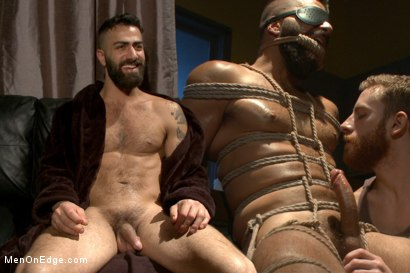 Adam Ramzi's Home Invaded and Cock Edged