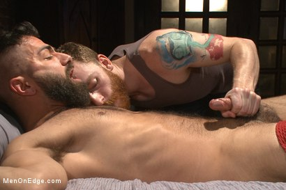 Photo number 14 from Adam Ramzi's Home Invaded and Cock Edged shot for Men On Edge on Kink.com. Featuring Adam Ramzi in hardcore BDSM & Fetish porn.