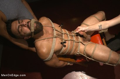 Photo number 6 from Adam Ramzi's Home Invaded and Cock Edged shot for Men On Edge on Kink.com. Featuring Adam Ramzi in hardcore BDSM & Fetish porn.