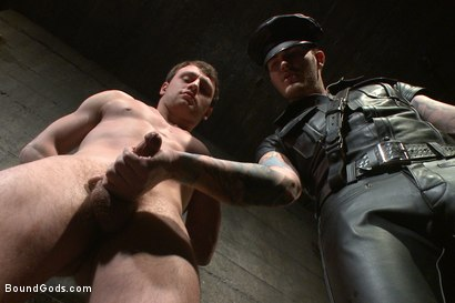 Photo number 3 from Mr Wilde breaks in the new boy of the house shot for Bound Gods on Kink.com. Featuring Scott Harbor and Christian Wilde in hardcore BDSM & Fetish porn.