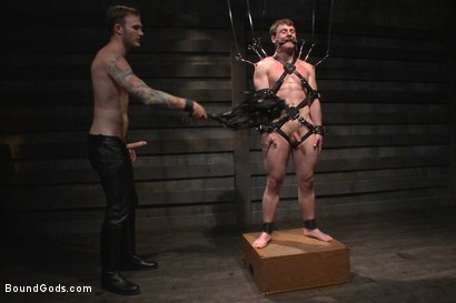 Photo number 8 from Mr Wilde breaks in the new boy of the house shot for Bound Gods on Kink.com. Featuring Scott Harbor and Christian Wilde in hardcore BDSM & Fetish porn.