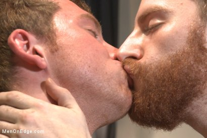 Photo number 3 from Officer Maguire edged and gets an electric buttplug for the first time shot for Men On Edge on Kink.com. Featuring Connor Maguire in hardcore BDSM & Fetish porn.