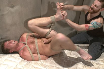 Photo number 11 from Officer Maguire edged and gets an electric buttplug for the first time shot for Men On Edge on Kink.com. Featuring Connor Maguire in hardcore BDSM & Fetish porn.