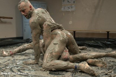 Photo number 6 from Top Cock: MUD WRESTLING! shot for Naked Kombat on Kink.com. Featuring Jessie Colter and Jimmy Bullet in hardcore BDSM & Fetish porn.