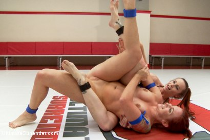 Photo number 2 from Fiery Red Heads fight for the ultimate State of Control shot for Ultimate Surrender on Kink.com. Featuring Sophia Locke and Bella Rossi in hardcore BDSM & Fetish porn.