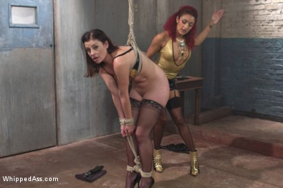 Photo number 14 from Begging For Punishment shot for Whipped Ass on Kink.com. Featuring Sovereign Syre and Daisy Ducati in hardcore BDSM & Fetish porn.