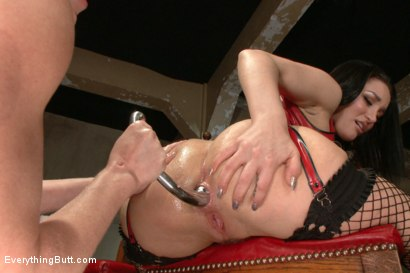 Photo number 2 from Smothered by a Fisted Ass. Beautiful Gabriella Paltrova takes ALL of Darling's Ass shot for Everything Butt on Kink.com. Featuring Gabriella Paltrova and Dee Williams in hardcore BDSM & Fetish porn.