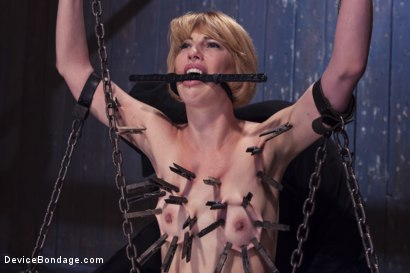Photo number 4 from Submitting to the Pain shot for Device Bondage on Kink.com. Featuring Orlando and Kay Kardia in hardcore BDSM & Fetish porn.