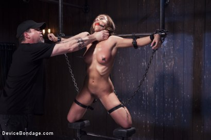 Photo number 6 from Afraid of the Dark shot for Device Bondage on Kink.com. Featuring Roxanne Rae in hardcore BDSM & Fetish porn.