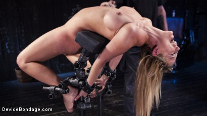 Photo number 11 from Hot Blonde in Brutal Device Bondage shot for Device Bondage on Kink.com. Featuring Cherie DeVille in hardcore BDSM & Fetish porn.