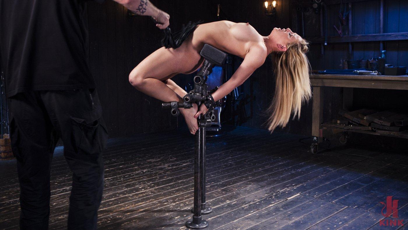 Photo number 12 from Hot Blonde in Brutal Device Bondage shot for Device Bondage on Kink.com. Featuring Cherie DeVille in hardcore BDSM & Fetish porn.