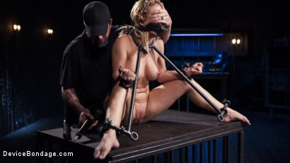 Photo number 4 from Hot Blonde in Brutal Device Bondage shot for Device Bondage on Kink.com. Featuring Cherie Deville in hardcore BDSM & Fetish porn.