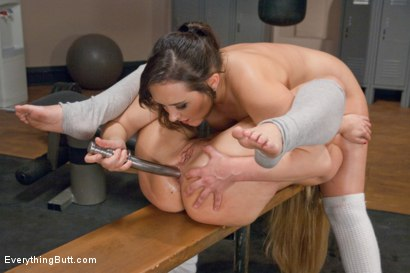 Photo number 13 from Anal Exercise Class, Sinn Sage gets these assholes Stretched.  shot for Everything Butt on Kink.com. Featuring AJ Applegate, Sinn Sage and Beretta James in hardcore BDSM & Fetish porn.