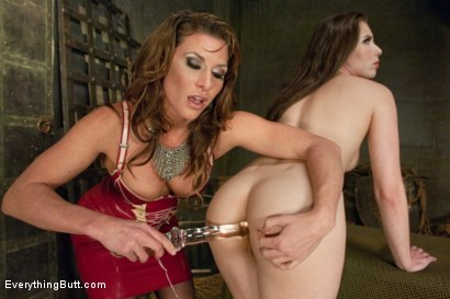 Photo number 1 from Trial by Ass fucking. Bewitched Asshole gets a medieval punishment shot for Everything Butt on Kink.com. Featuring Ariel X and Casey Calvert in hardcore BDSM & Fetish porn.