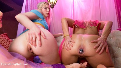 Photo number 11 from Genies in Training learn to satisfy their masters' Anal fantasies shot for Everything Butt on Kink.com. Featuring Lea Lexis, Angel Allwood and Ella Nova in hardcore BDSM & Fetish porn.