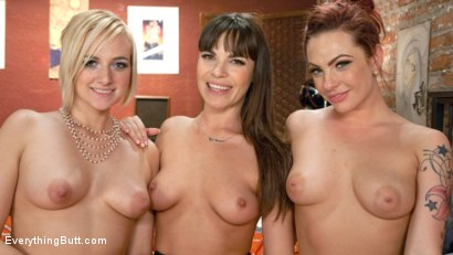 Photo number 11 from Housewife plastic container Party turns into a dirty anal exploration shot for Everything Butt on Kink.com. Featuring Dahlia Sky, Dana DeArmond and Kate England in hardcore BDSM & Fetish porn.