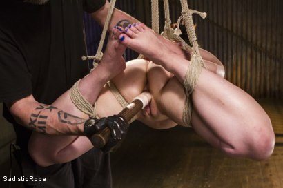 Photo number 7 from Bring on the Pain! shot for Sadistic Rope on Kink.com. Featuring Katharine Cane in hardcore BDSM & Fetish porn.