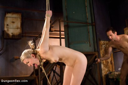 Photo number 7 from Tied Up and Fucked Hard shot for Dungeon Sex on Kink.com. Featuring Maestro and Ella Nova in hardcore BDSM & Fetish porn.