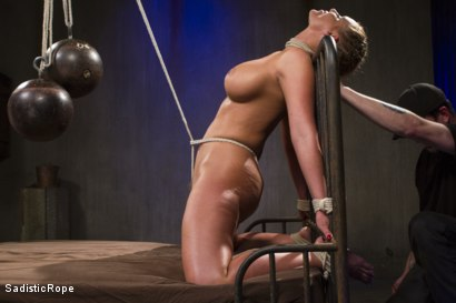 Photo number 15 from The Pain Slut and The Princess shot for Sadistic Rope on Kink.com. Featuring Delirious Hunter and Phoenix Marie in hardcore BDSM & Fetish porn.