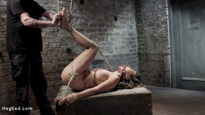 Photo number 15 from Helpless Squirting Slut shot for Hogtied on Kink.com. Featuring Danica Dillon in hardcore BDSM & Fetish porn.