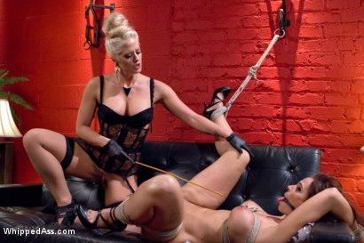 Photo number 6 from Dueling MILF Secretaries shot for Whipped Ass on Kink.com. Featuring Syren de Mer and Holly Heart in hardcore BDSM & Fetish porn.