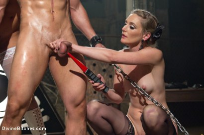 Photo number 21 from Like A Rat In A Cage shot for Divine Bitches on Kink.com. Featuring Daisy Ducati, Mona Wales and Alejandro in hardcore BDSM & Fetish porn.