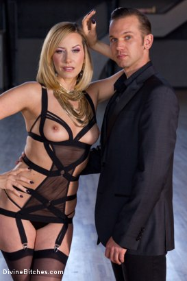 Photo number 1 from A Devoted Man: Real Love, Real Consent, Real Kink shot for Divine Bitches on Kink.com. Featuring Maitresse Madeline Marlowe  and Will Havoc in hardcore BDSM & Fetish porn.