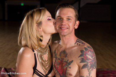 Photo number 7 from A Devoted Man: Real Love, Real Consent, Real Kink shot for Divine Bitches on Kink.com. Featuring Maitresse Madeline Marlowe  and Will Havoc in hardcore BDSM & Fetish porn.