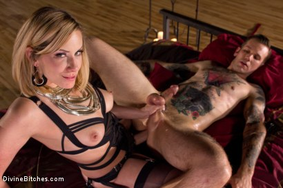 Photo number 8 from A Devoted Man: Real Love, Real Consent, Real Kink shot for Divine Bitches on Kink.com. Featuring Maitresse Madeline Marlowe  and Will Havoc in hardcore BDSM & Fetish porn.