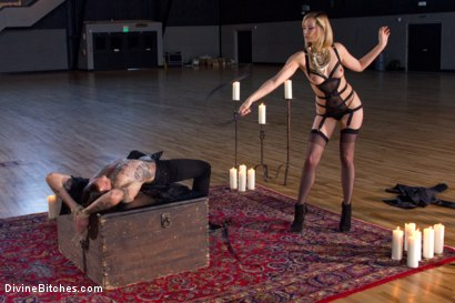 Photo number 3 from A Devoted Man: Real Love, Real Consent, Real Kink shot for Divine Bitches on Kink.com. Featuring Maitresse Madeline Marlowe  and Will Havoc in hardcore BDSM & Fetish porn.