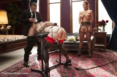 Photo number 1 from All Anal Slave Girls Training the Gape! shot for The Upper Floor on Kink.com. Featuring Mr. Pete, Phoenix Marie and Ella Nova in hardcore BDSM & Fetish porn.