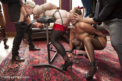 Photo number 3 from All Anal Slave Girls Training the Gape! shot for The Upper Floor on Kink.com. Featuring Mr. Pete, Phoenix Marie and Ella Nova in hardcore BDSM & Fetish porn.