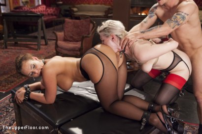 Photo number 10 from All Anal Slave Girls Training the Gape! shot for The Upper Floor on Kink.com. Featuring Mr. Pete, Phoenix Marie and Ella Nova in hardcore BDSM & Fetish porn.