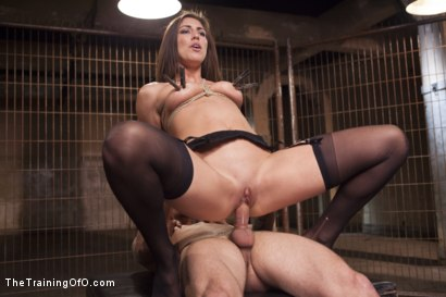 Photo number 12 from Assessing Rilynn Rae, Day One shot for The Training Of O on Kink.com. Featuring Rilynn Rae and Mr. Pete in hardcore BDSM & Fetish porn.