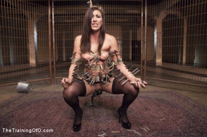 Photo number 6 from Assessing Rilynn Rae, Day One shot for The Training Of O on Kink.com. Featuring Rilynn Rae and Mr. Pete in hardcore BDSM & Fetish porn.