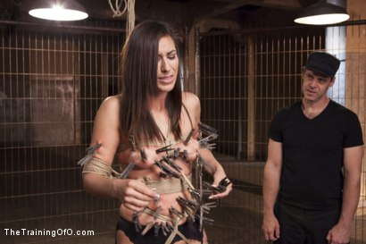Photo number 2 from Assessing Rilynn Rae, Day One shot for The Training Of O on Kink.com. Featuring Rilynn Rae and Mr. Pete in hardcore BDSM & Fetish porn.