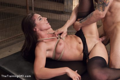 Photo number 14 from Assessing Rilynn Rae, Day One shot for The Training Of O on Kink.com. Featuring Rilynn Rae and Mr. Pete in hardcore BDSM & Fetish porn.