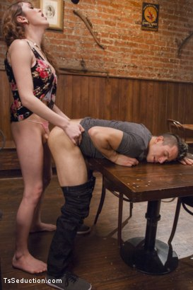 Photo number 4 from Eager Cum Swapping! shot for TS Seduction on Kink.com. Featuring Kylie Maria and Corbin Dallas in hardcore BDSM & Fetish porn.