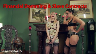 Full-Time Dominance & Submission: Slave Contracts and Financial Domination