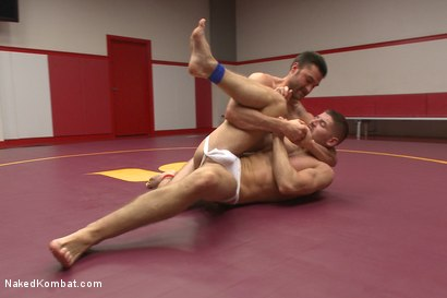 Photo number 6 from Top Cock: Sports Gear Smackdown Series - 2 studs fight in sports gear! shot for Naked Kombat on Kink.com. Featuring Abel Archer and Connor Halsted in hardcore BDSM & Fetish porn.