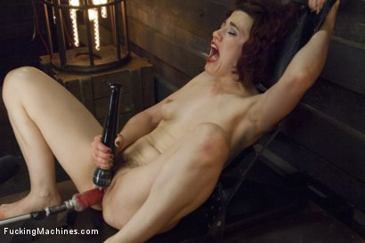 Photo number 8 from Ingrid Mouth's Caged pussy is machine fucked while she comes  shot for Fucking Machines on Kink.com. Featuring Ingrid Mouth in hardcore BDSM & Fetish porn.