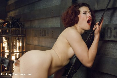Photo number 15 from Ingrid Mouth's Caged pussy is machine fucked while she comes  shot for Fucking Machines on Kink.com. Featuring Ingrid Mouth in hardcore BDSM & Fetish porn.