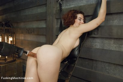 Photo number 12 from Ingrid Mouth's Caged pussy is machine fucked while she comes  shot for Fucking Machines on Kink.com. Featuring Ingrid Mouth in hardcore BDSM & Fetish porn.
