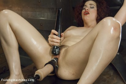Photo number 11 from Ingrid Mouth's Caged pussy is machine fucked while she comes  shot for Fucking Machines on Kink.com. Featuring Ingrid Mouth in hardcore BDSM & Fetish porn.