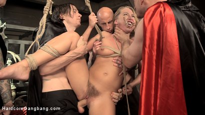 Photo number 10 from The Satanic Virgin Sacrifice Of Carter Cruise shot for Hardcore Gangbang on Kink.com. Featuring Carter Cruise, John Strong, Bill Bailey, Astral Dust, Owen Gray and Tommy Pistol in hardcore BDSM & Fetish porn.