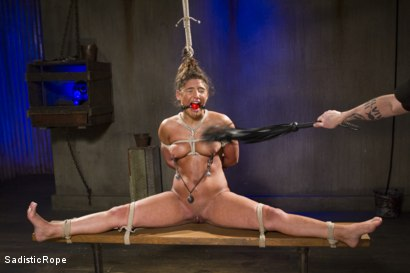 Photo number 2 from Not for the Faint of Heart - EXTREME BRUTALITY!!!! shot for Sadistic Rope on Kink.com. Featuring Abella Danger in hardcore BDSM & Fetish porn.