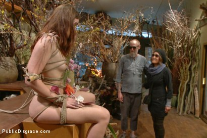 Photo number 7 from Young Slut Comes Into Full Bloom in City of Public Nudity shot for Public Disgrace on Kink.com. Featuring Steve Holmes, Jodi Taylor, Karlo Karrera, Daisy Ducati and Juliette March in hardcore BDSM & Fetish porn.